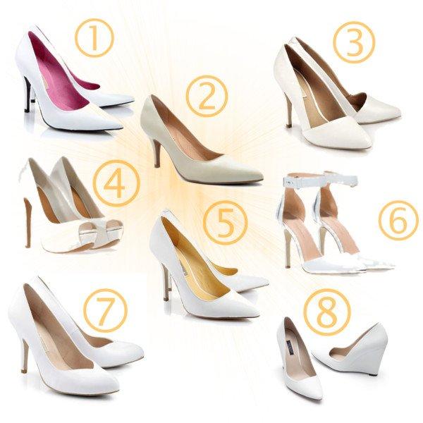 fehér cipő választék